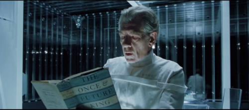 The X-Men reading