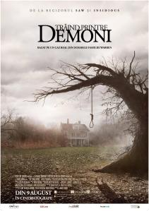 the conjuring poster demonii printre noi
